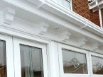 WHITE PLASTIC ROOFLINE AT ITS BEST